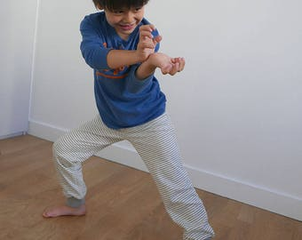 New! KIDS TROUSERS - PDF e pattern - Kids Sweatpants - 8Y