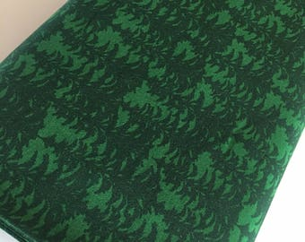 Outdoors fabric, Hike Camp Fish Hunt, Boy Room Decor, Baby Quilt, Tree Arrow, Blue Brown, Outdoors Trees in Green - Choose the cut