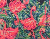 "flamenco beach dobby cotton fabric square 18""x18"" ~ lilly fall 2017 ~ lilly pulitzer"