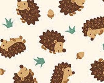 CUSTOM Reusable Cloth Menstrual Pad  - You Pick Backing - Hedgehogs and Acorns