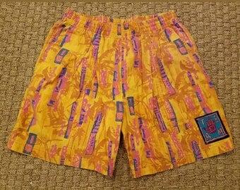 vintage 90s BODY GLOVE mens volleyball swim surf shorts sz Large L