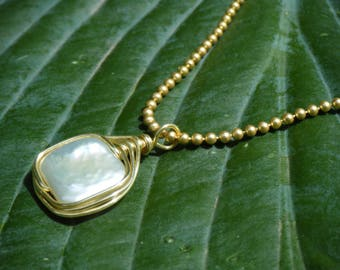 Covering All The Angles Freshwater Pearl Necklace