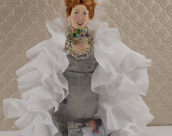 Beverly Sills Opera Singer Miniature Art Doll Stage Performer