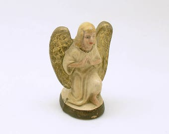 Antique Christmas Angel Figurine Nativity Christmas Decoration Germany