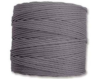 S-Lon Bead Cord Grey 77yrds. SLBC-GY