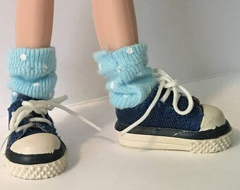These Baby Blues...Short Socks For Blythe...