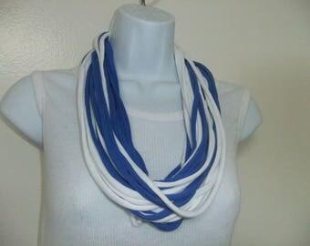 Zeta Phi Beta Multi-Strand Infinity Scarf All Year Round Wear Necklace Celebration Scarf