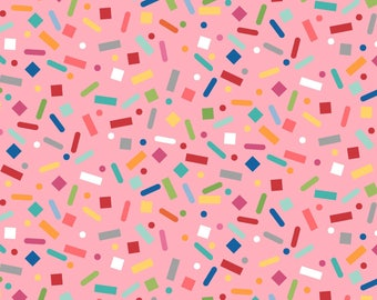 Sprinkle Sunshine Confetti & Sprinkles Fabric 4 yards