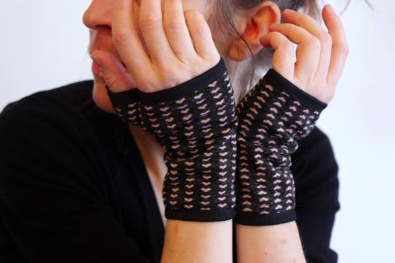 Fingerless Gloves velvet.