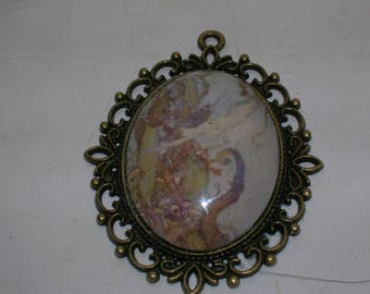 edmund dulac's little mermaid pendant
