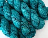 DRAGON EYE Version 2 - Hand Dyed Yarn - Signature Merino Nylon Sock Yarn Fingering - Ready to Ship - Vivid Yarn Studio