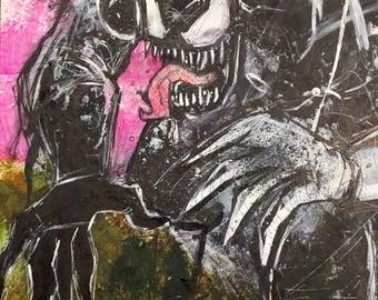 Urbnpop- original venom drawing
