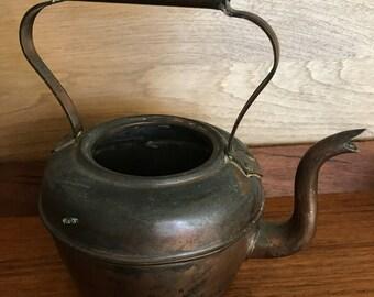 Antique Jubilee Copper Kettle