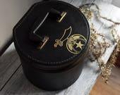 Vintage Masonic Hat Case, Collectible Hat Box, Storage & Organization