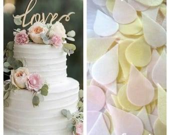 Confetti ECO  Petals Wedding Confetti  BIODEGRADABLE  ORGANIC Wedding Toss Dissolve  Beautiful