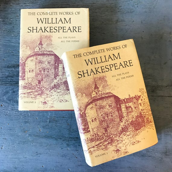 vintage The Complete Works of William Shakespeare books -  - 1964 edition