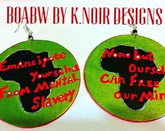 Emancipate liberation earrings