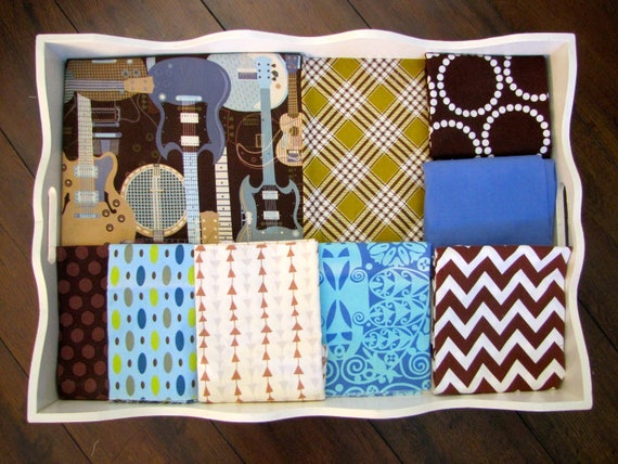 Guitars 32x32 Minky Blanket Made to Order