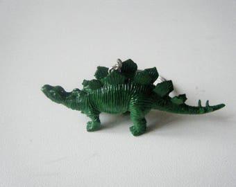 ♥♥♥♥ Keyring ♥ dark green dinosaur ♥♥♥