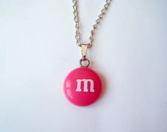 ♥ ♥ Candy M pendant Pink ♥