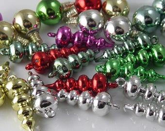 Grab Bag Acrylic Beads Bulbs Widows Orphans Findings Supplies (234grab1)