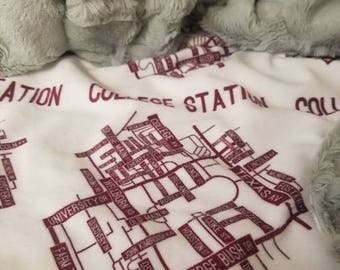50% OFF College Station Texas blanket