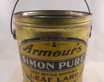 Armour's Simon Pure Leaf Lard