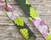 PERFECT GIFT - Fabric Belt - D Ring - Heather Bailey - Made in ANY Size - Boutique Mia