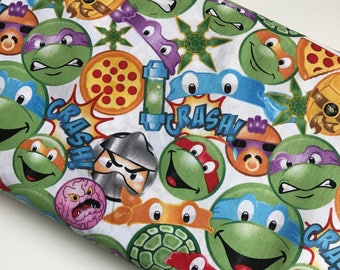 Teenage Mutant Ninja Turtles Icon Packed Cotton Woven By The Yard
