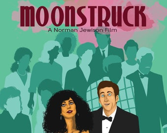 MOONSTRUCK Poster Artwork