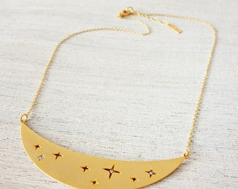 On Sale 40% off, Star Dust Necklace, star necklace, signature necklace, cosmic jewelry