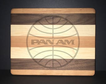 Pan American Airways 10 X 8 Bread/Cheese Board