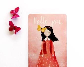 30% Off - Summer SALE 30 Percent Off - Summer SALE Hello you - Postcard