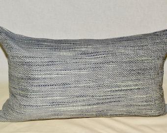 Indigo multi Lumbar pillow cover