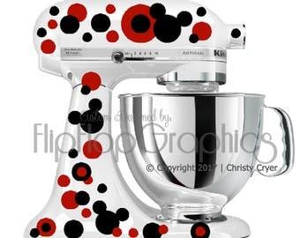Graphic for Kitchen Mixer - Mickey Polka Dots