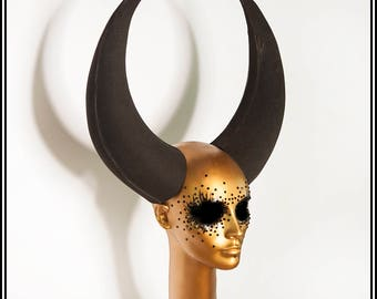 Large Devil Horns... DIY Craft Material Vegan Horns EVA Foam Fabrication Lightweight Handmade