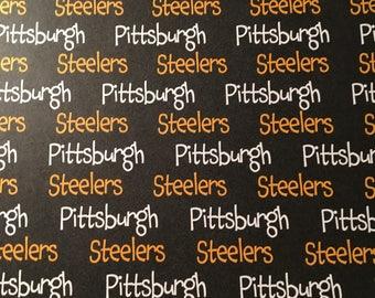 Pittsburg Steelers 12x12 scrapbook paper