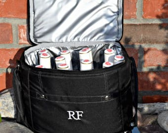 Personalized Coolers Groomsmen Gifts Bottle or Cans