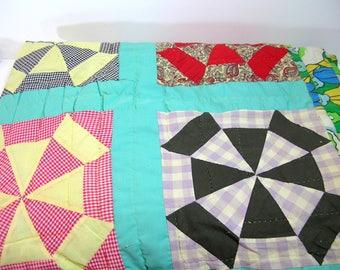 Vintage Quilt, Twin Size Quilt
