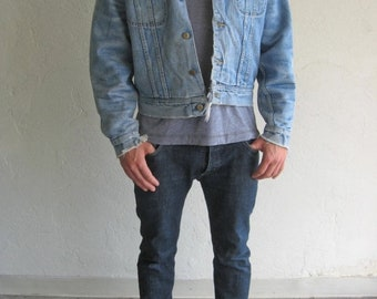 40% OFF The Lee Distressed Corduroy Collar Denim Jacket