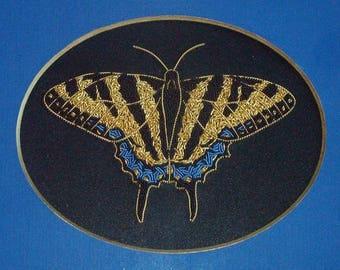 Alison Cole Tiger Swallowtail Butterfly Pattern