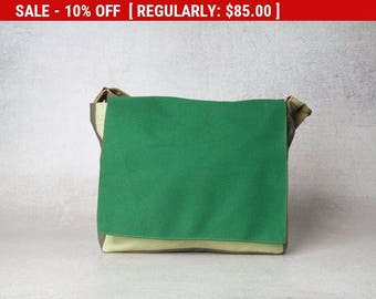 womens messenger bag women, kelly green bag, womens canvas bag, shoulder bags for women ,canvas messenger bag, cute messenger bags