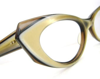Vintage Ray Ban Sunglasses Frame Cat Eye BL Marche large