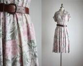 softest floral day dress
