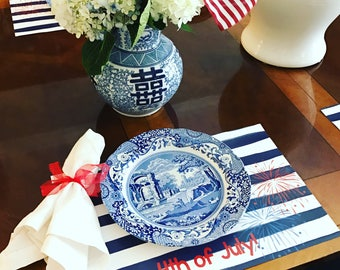 4th of July Paper Placemats - Set of 12