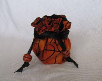 Jewelry Tote - Mini Size - Basketball Team Bag - SLAM DUNK BASKETBALL