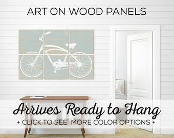 Mens Cyclist Gift - Large Bicycle Art - Large Bike Art - Best Cycling Gifts - Bicycle Print Decor - Bicycle Art Decor - Bike Wall Art Print