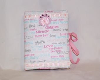 Lovely Padded Baby Fabric Photo Album