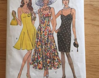 Vogue 8314 Close-Fitting Dress with Princess Seams - size 6