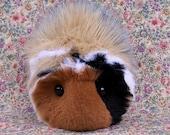 Custom Order Calico Guinea Pig Handmade Plush Toys RESERVED